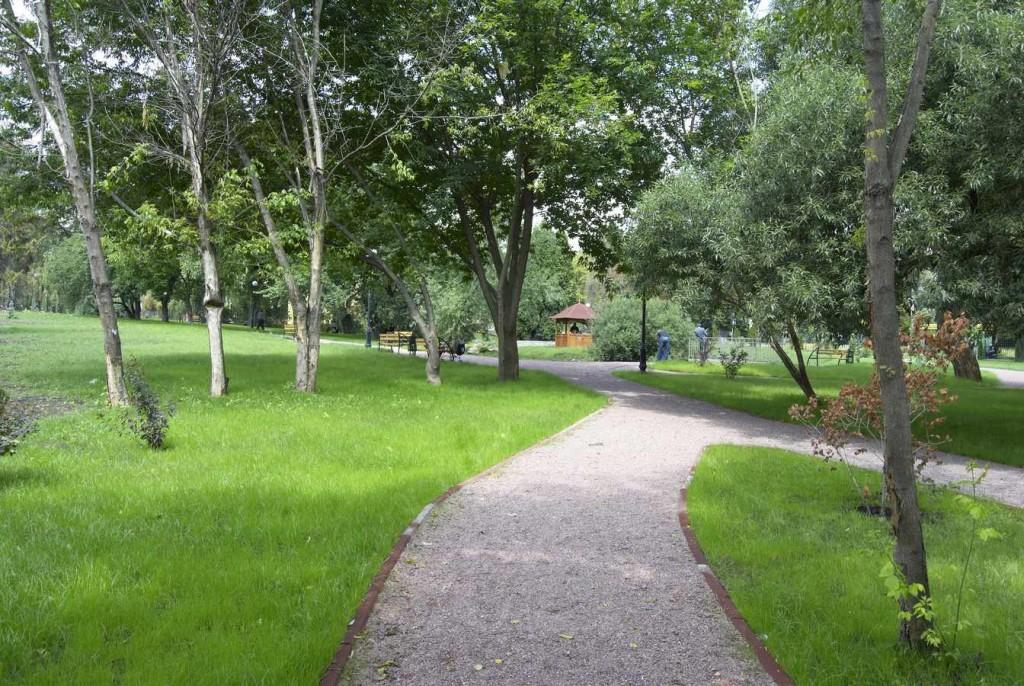 Прогулка в парке Кинь грусть